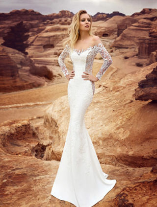 Wedding Dress Collections 20180412 2018 Oksanamukha Amadea 2 00Front